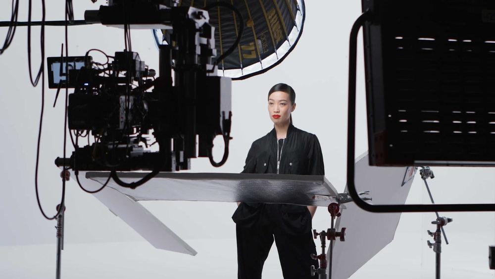 Yi Zhou, Photo Credit: Shiseido