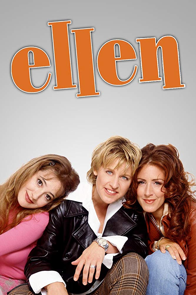 Clea Lewis, Ellen DeGeneres, and Joely Fisher