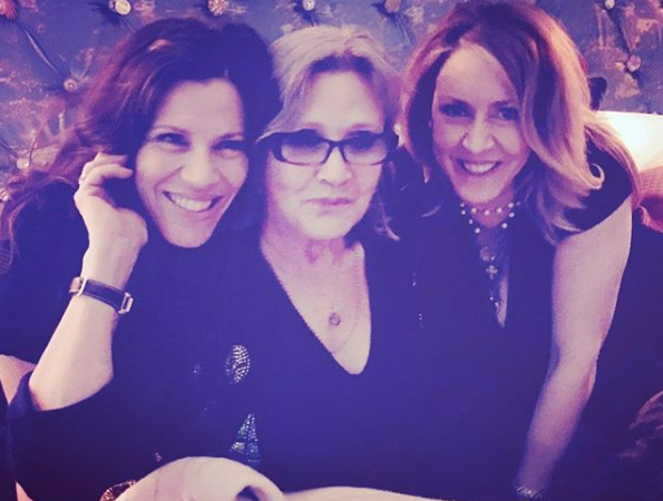 Tricia Leigh, Carrie and Joely Fisher