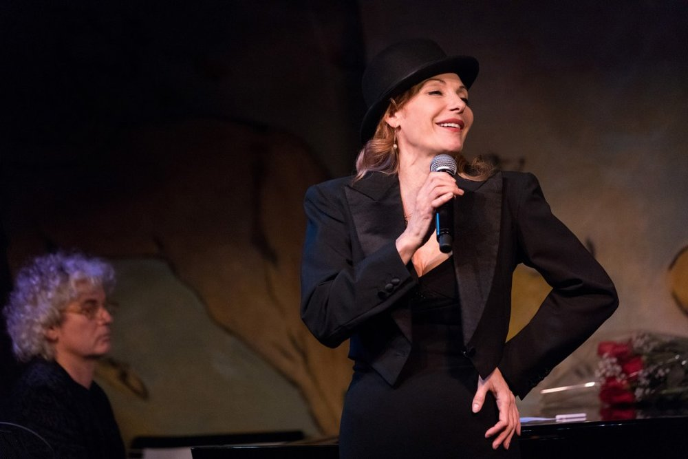 "Ute Lemper performing ""Rendezvous with Marlene"", Photo Credit: David Andrako"
