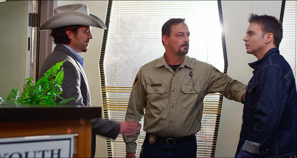 "Peter Wrobell and Christian Kane in ""Junkie: Miles To Go"""