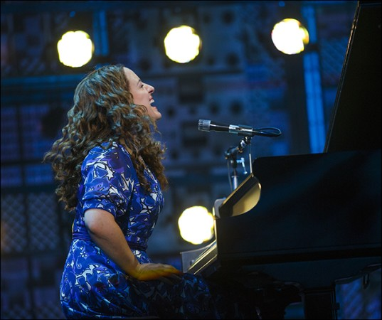 "Abby Mueller as Carole King on the National Tour of ""BEAUTIFUL - The Carole King Musical"", Photo Credit: Joan Marcus"