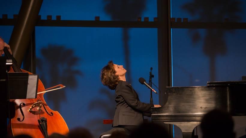 Michele Brourman performing, Photo Credit: Bill Dean