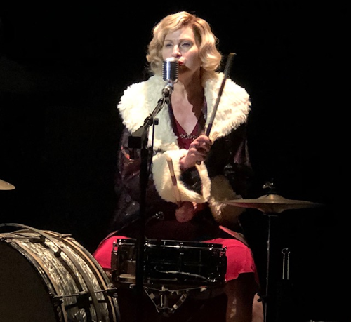 """Luba Mason in """"Girl From North Country"""" at The Public Theater"""