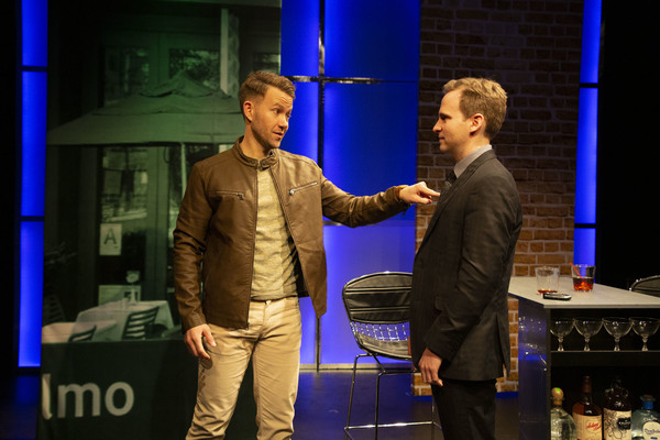 """Christopher J. Hanke and Ryan Spahn in """"Still At Risk"""", Photo credit: Clay Anderson"""