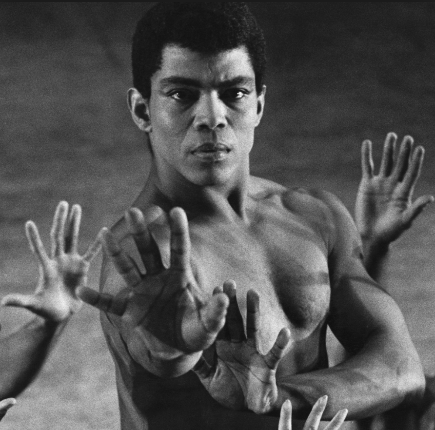 This 1950s image released by Alvin Ailey American Dance Theater shows dancer Alvin Ailey.