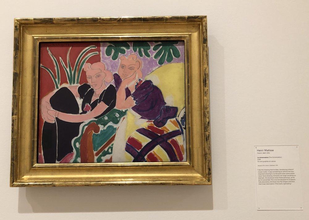 Le Conversation  by Henri Matisse. Image: Namita Paul