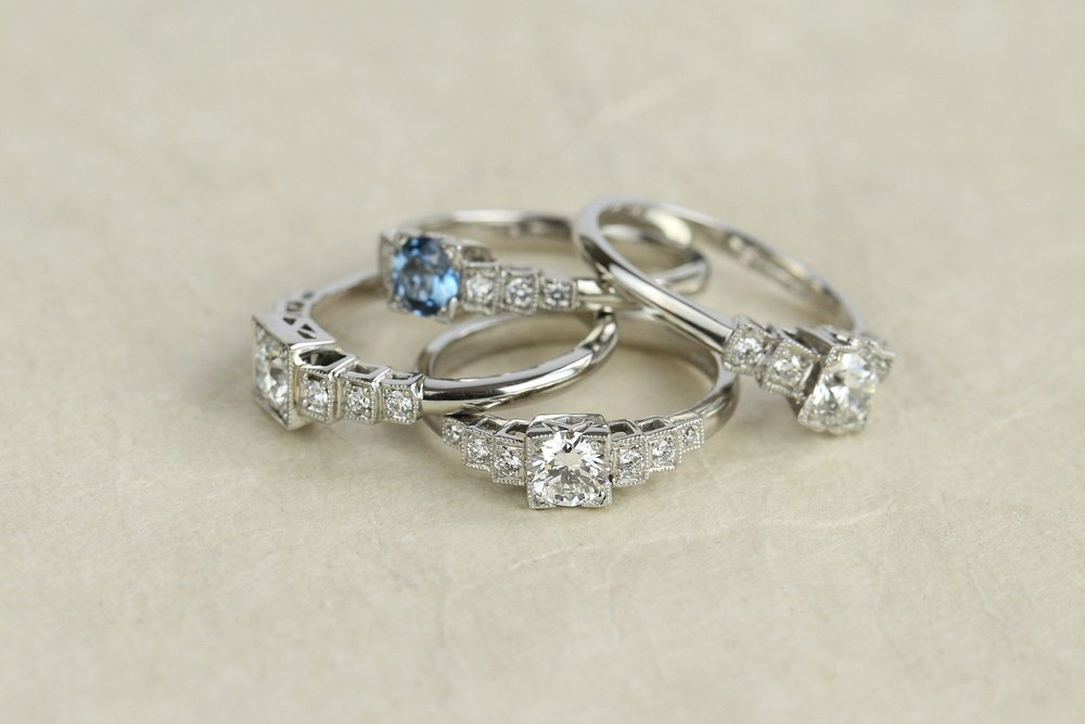How to choose an engagement ring - engagement rings by London Victorian Ring Co