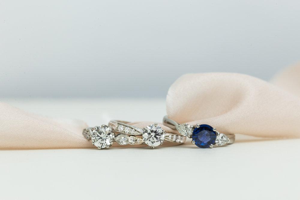 London Victorian Ring Co - Choosing an engagement ring - diamond engagement ring - sapphire engagement ring