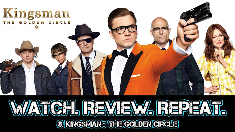 8. Kingsman: The Golden Circle