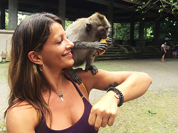 Meet monkeys at Ubud's famous forest