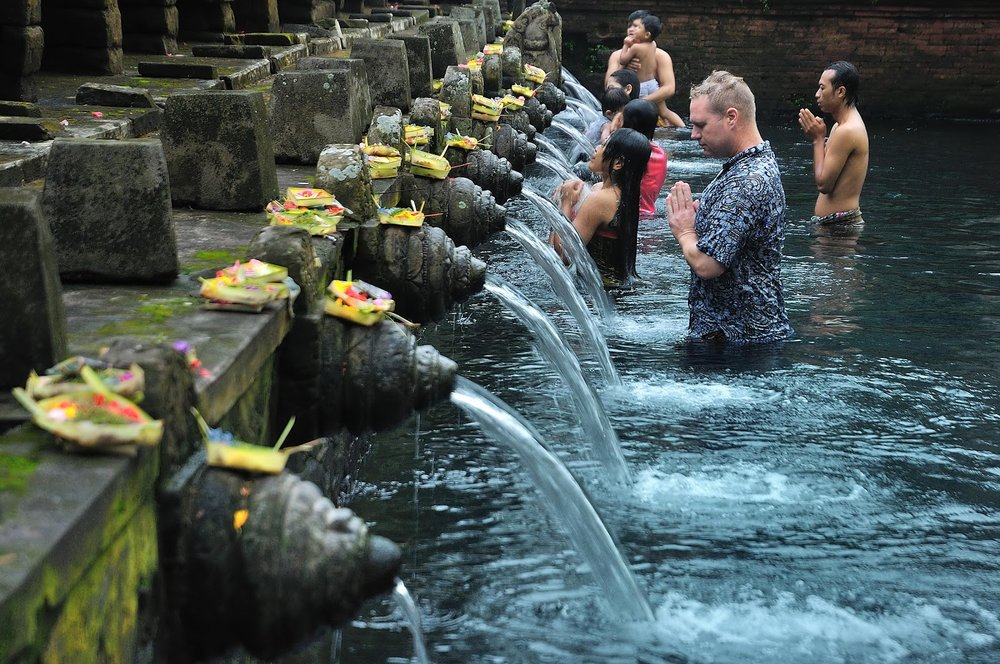 Cleanse with a Balinese Water Ceremony