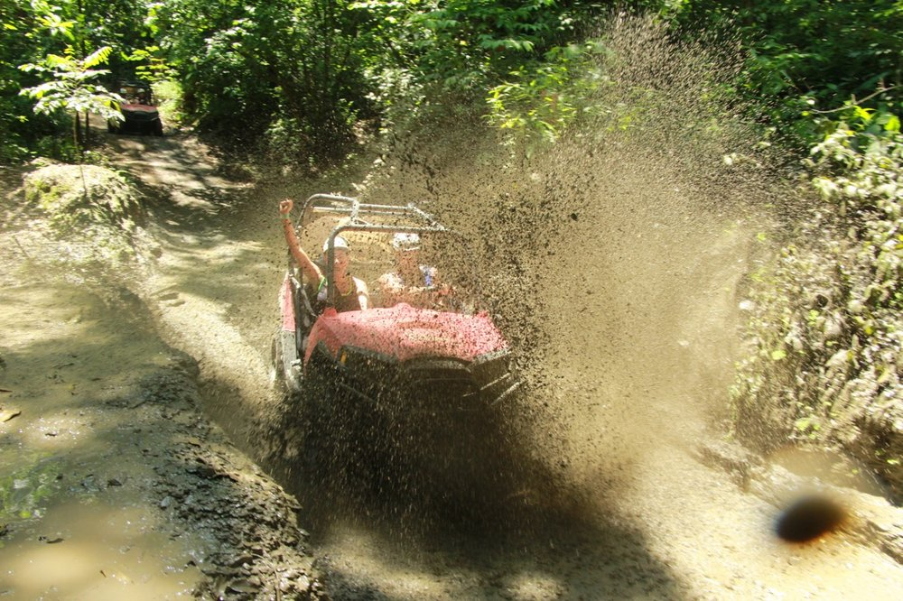 Get down and dirty on an ATV