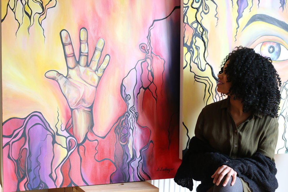 Artist and Jewelry Designer of Deleay Lashay, Marissa Kendrick,