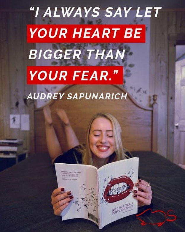 """""""I always say let your heart be bigger than your fear. I did that with this book, and I am happy with all of it. To anyone who struggles with holding themselves back creatively or silencing themselves for the sake of others: don't. Your work is about you. Do what you need to do for yourself, tell the stories you need to tell. Set yourself free, and know that someone out there will be thankful you did."""" Head over to the Shrew blog and check out @honestlyaudrey discuss her journey in publishing her first book. Link in bio! #selfpublished #poetry #poem #writing #writersofinstagram"""