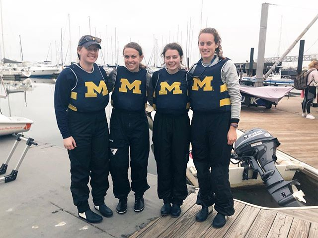 Wolverines back in action! Our women's team attended the Phebe Corkran King Women's Regatta this weekend and got some great sailing in⛵️ #mgosail