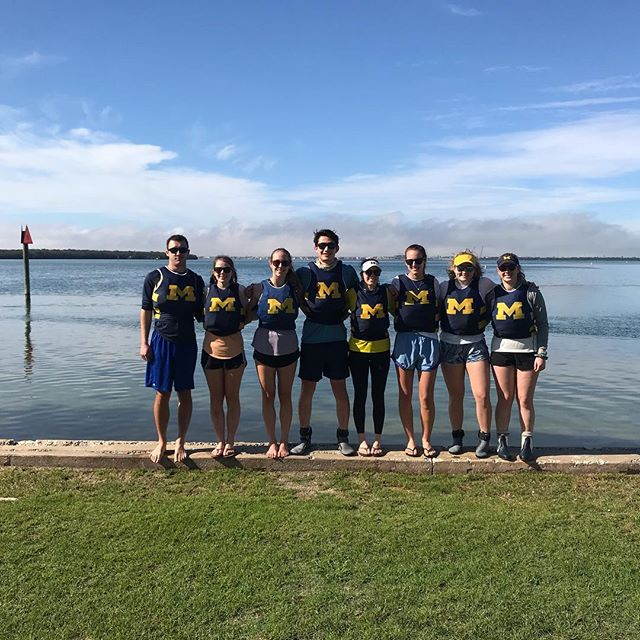 Our sailors placed 9th and 11th at Eckerd Interconference this weekend!