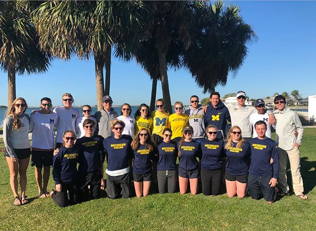 Our team had a great week in St. Petersburg, Florida for spring break training! Thank you to @ec_sailing for letting us use the boats and facility!