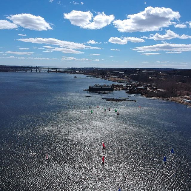 Cool shots from Southern New England Team Race! Our sailors also competed at St. Mary's Women's Interconference this weekend. #mgosail #umichsailing
