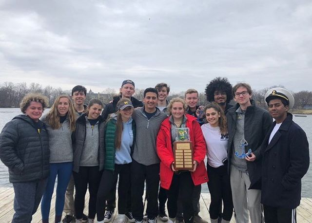 Freshmen win Icebreaker! We sent 14 first years to Notre Dame this past weekend to compete in First Year Icebreaker. Thank you to @nd_sail for hosting!