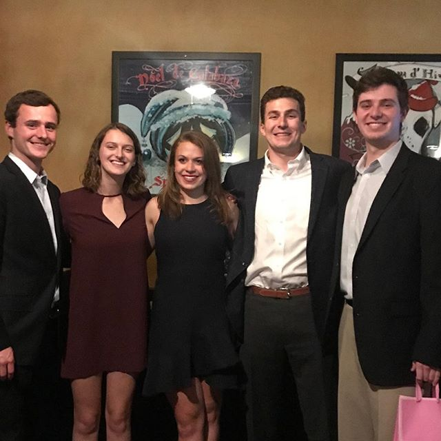 At the banquet last night we honored our seniors. Also, congrats to the sailors recognized for Most Valuable Skipper, Most Valuable Crew, Most Valuable First Year, Most Improved, and Sportsmanship!