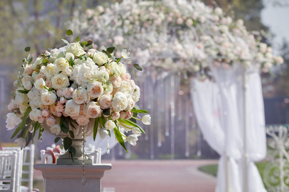 Weddings - We'll work closely with you to create breathtaking, noteworthy décor for your big day!