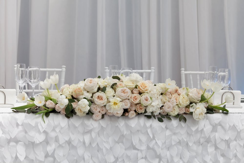 Long Table Floral Arrangement