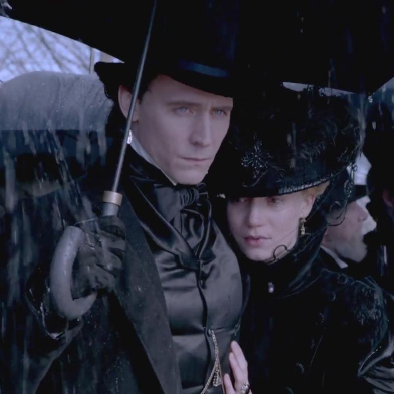 Edith and Thomas in  Crimson Peak  (2015)