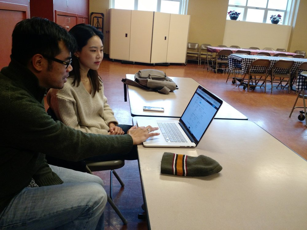 Usability testing with food shelter manager