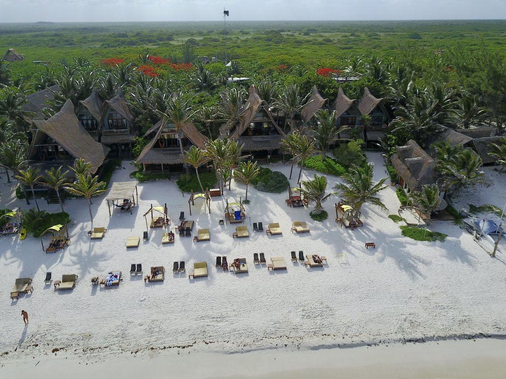 Personal Drone Photo of Ahau Tulum.