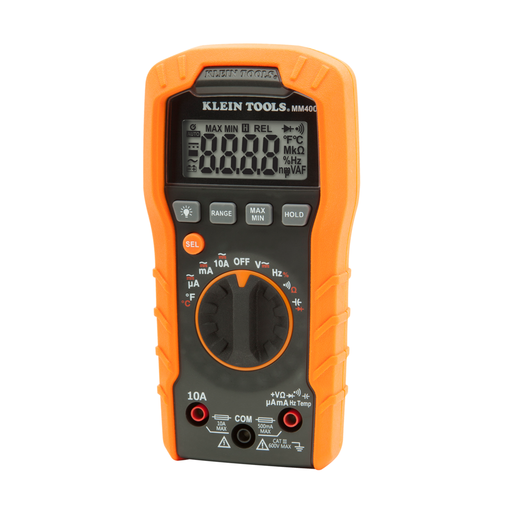 Click on the image to go to the Bunnings website to purchase the Klein Tools Multimeter.