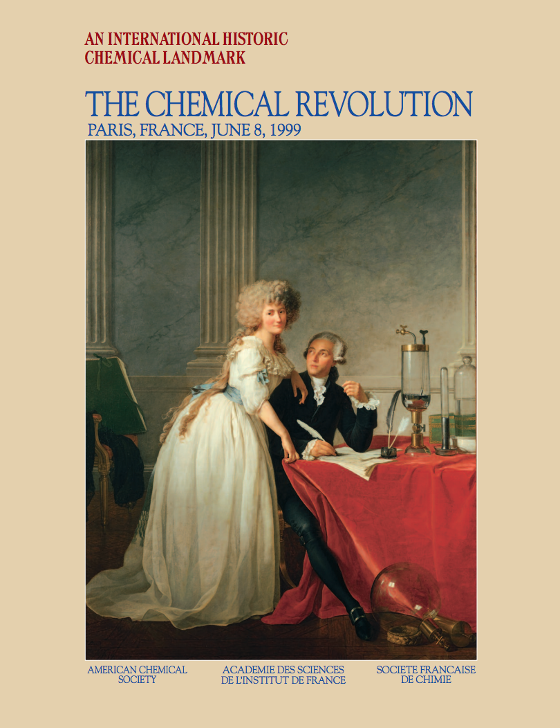 Click on the picture above to go to the PDF document on The Chemical Revolution and Phlogiston Theory.
