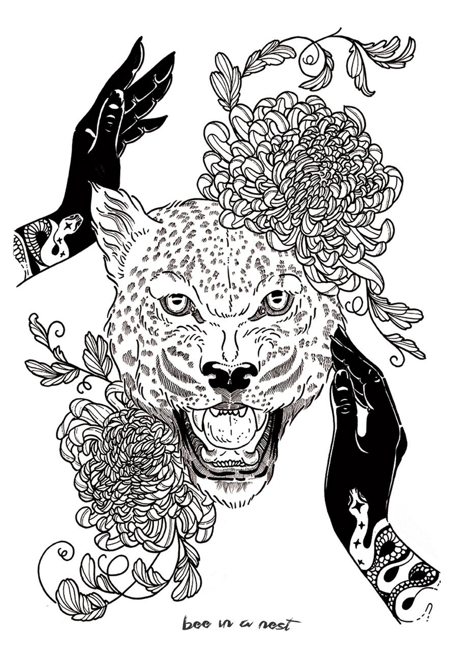 Dovremmo essere tutti femministi - dedicato a quelle donne che come il giaguaro sono adattabili e non hanno paura di affrontare nuove situazioni.