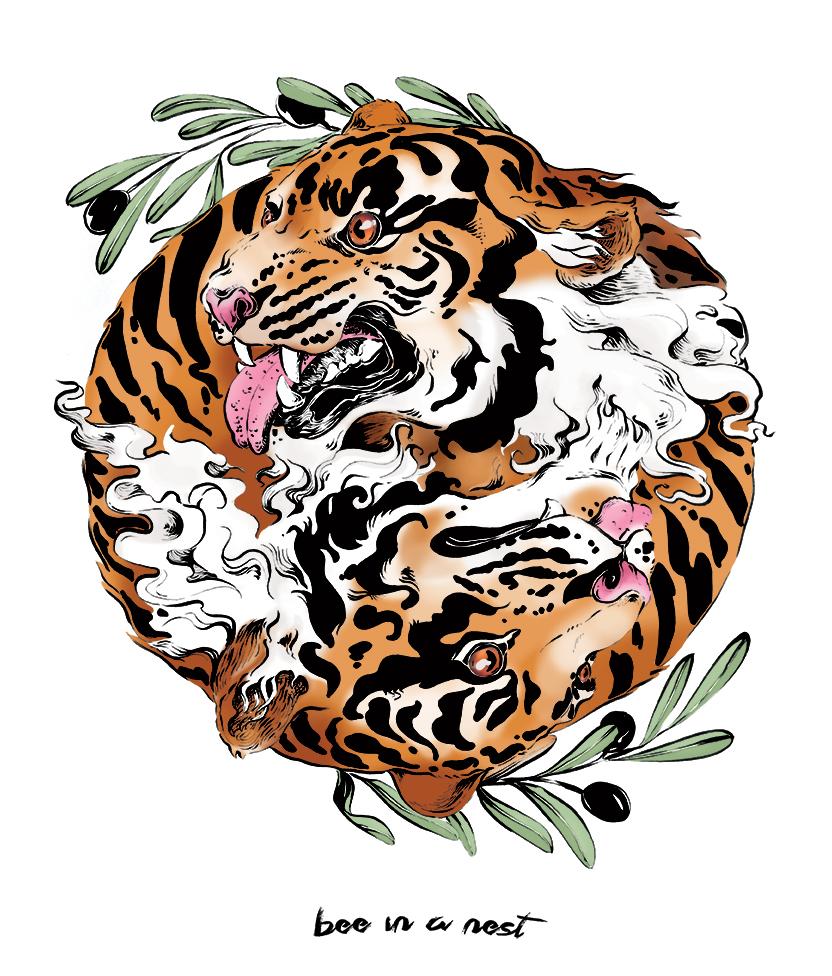 Vincerò.Non immediatamente,ma sicuramente. - Da sempre la tigre é stata utilizzata come simbolo di forza e determinazione. Grazie al