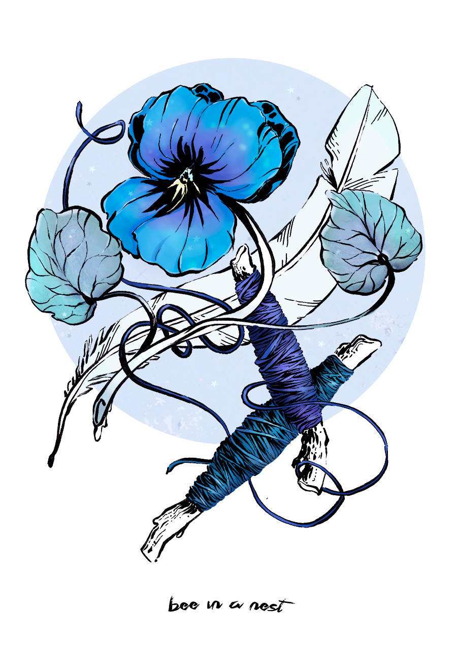 Come un fiore o una piuma conservo il tuo ricordo tra le pagine della mia memoria. - Quando l'inverno si avvicina al suo termine ecco che le violette spuntano negli angoli dei giardini.