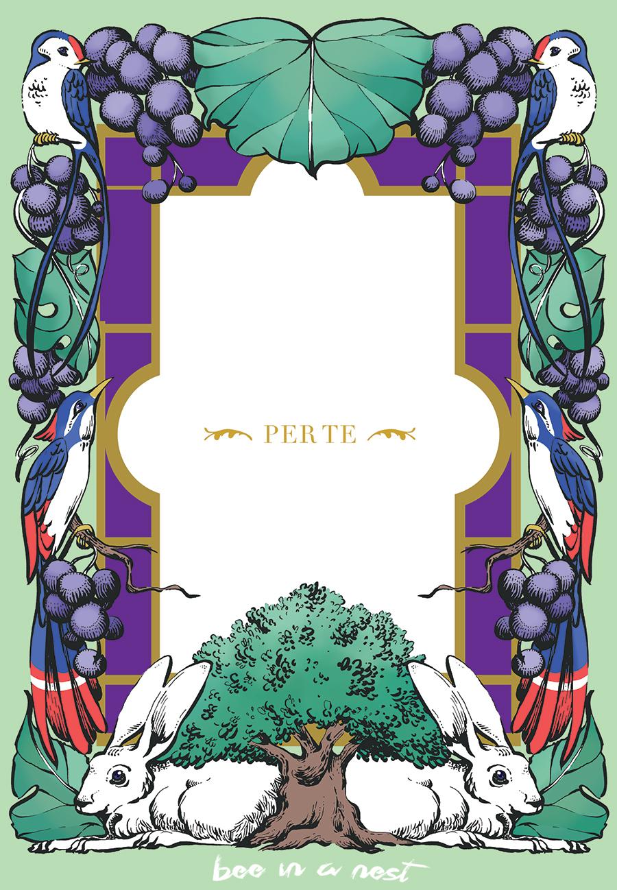 Per te. - Ribes Nero Valpolicella Jewelry, mi ha chiesto di studiare un'elegante cartolina da regalare ai propri clienti per rendere ancora più speciali i loro regali.