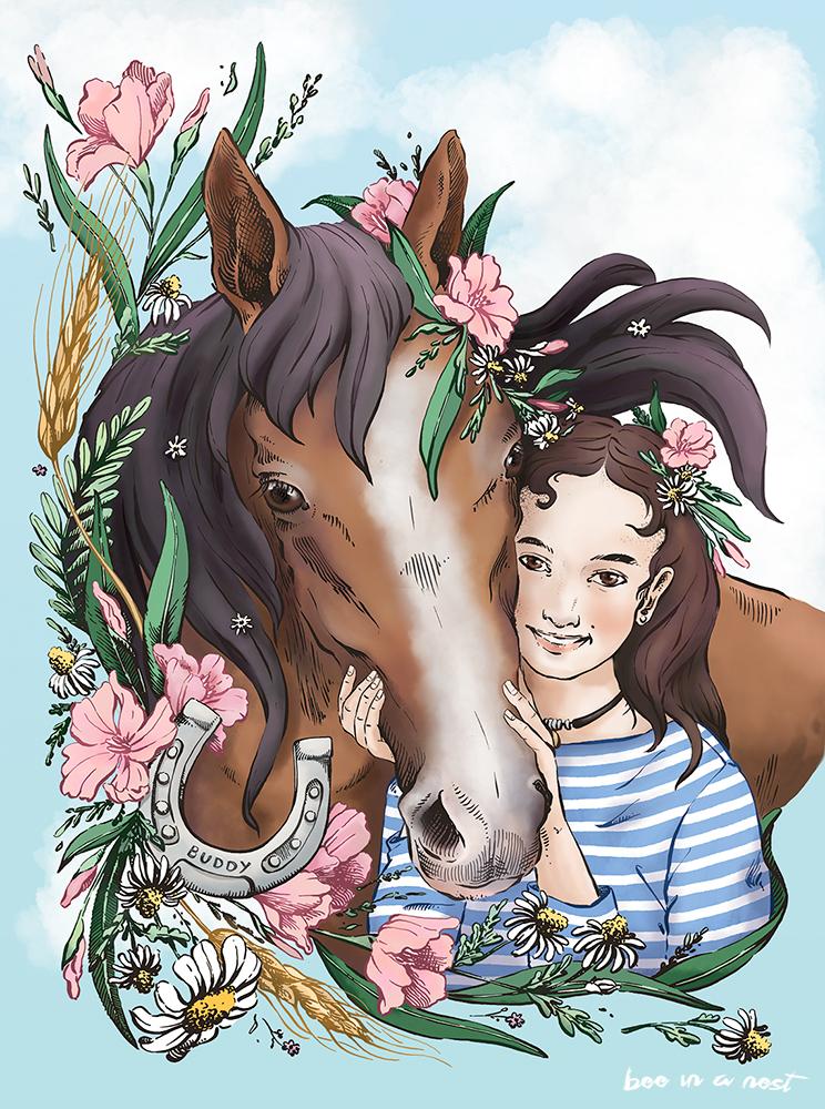 Le amicizie nell'infanzia sono intese ed uniche - Speciali come quel legame che c'è tra la piccola Anna e il suo Buddy, compagno agonistico e amico fedele!