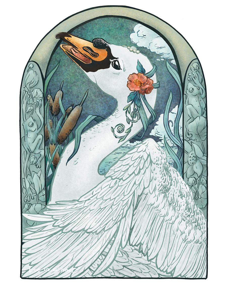 Senza intenzione, i miei soggetti diventano sempre più romantici. - Se le illustrazioni sono lo specchio dell'anima la mia è colma di fiori.