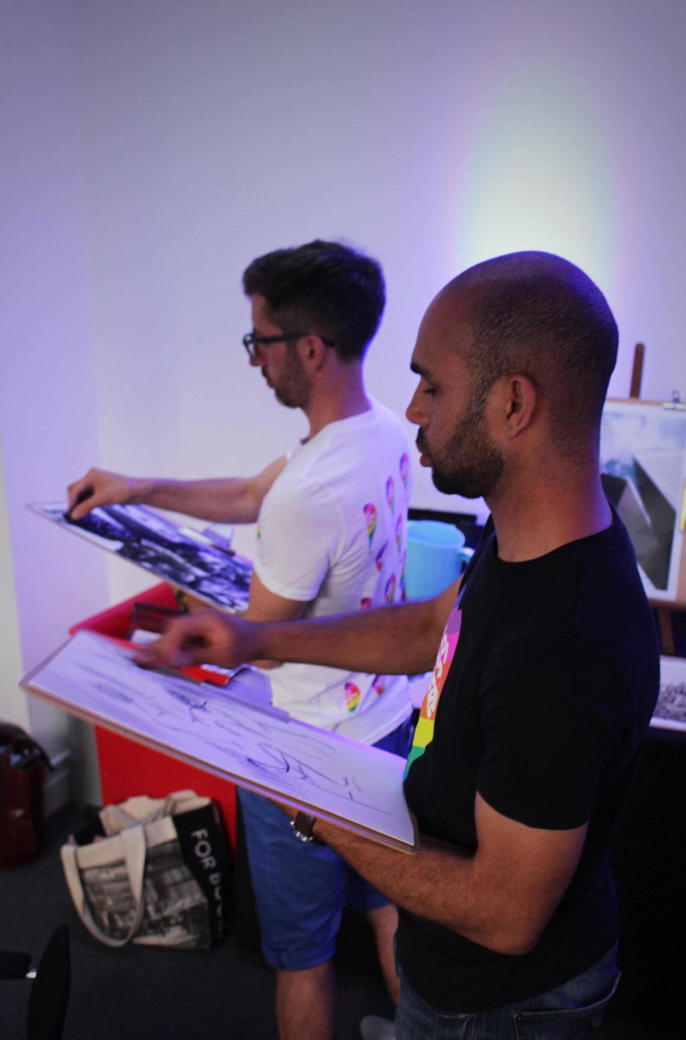 Leo & Roy draw.JPG