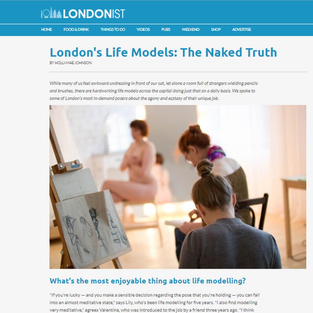 London's Life Models