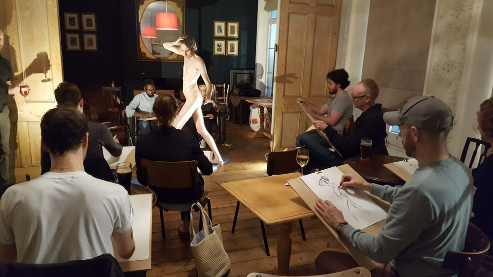 LIFE DRAWING SOCIAL - First Thursday of the month 7-9pm