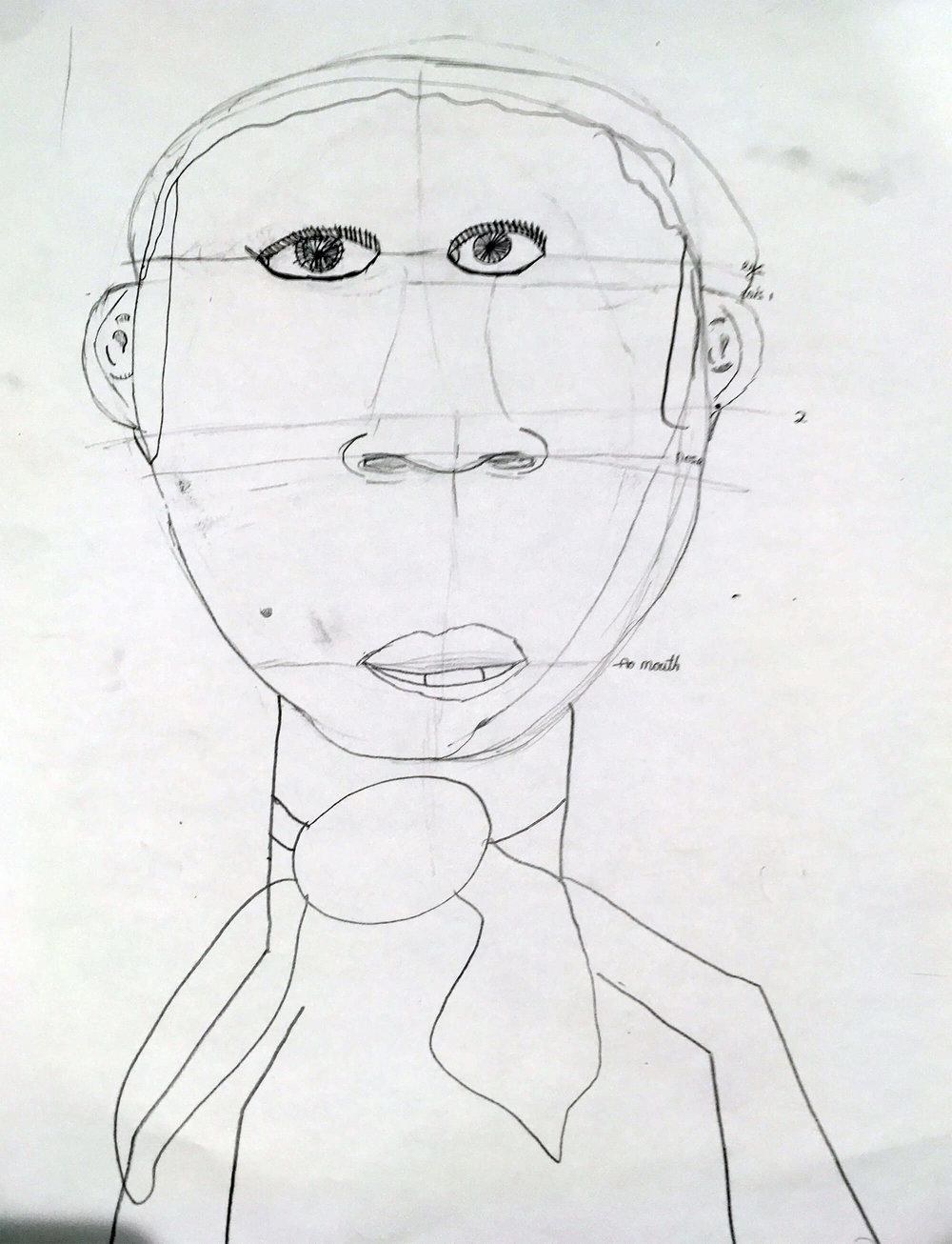 Natasha, aged 9