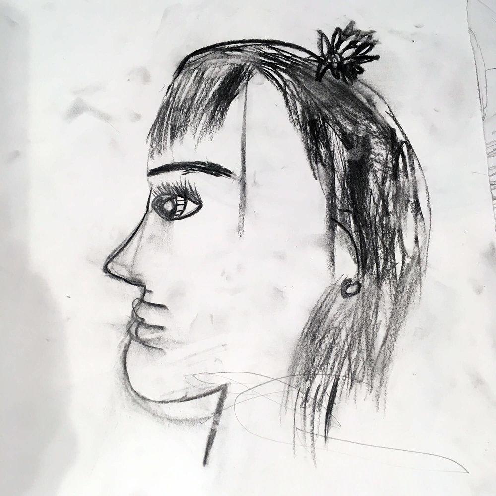 Alyssa, aged 8