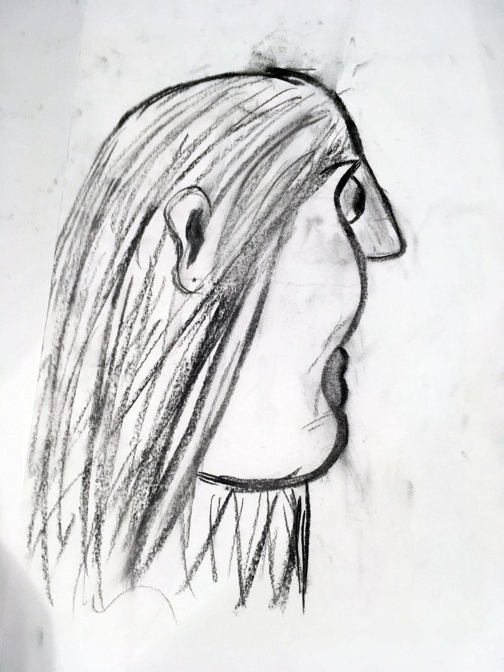 Aruna, aged 9