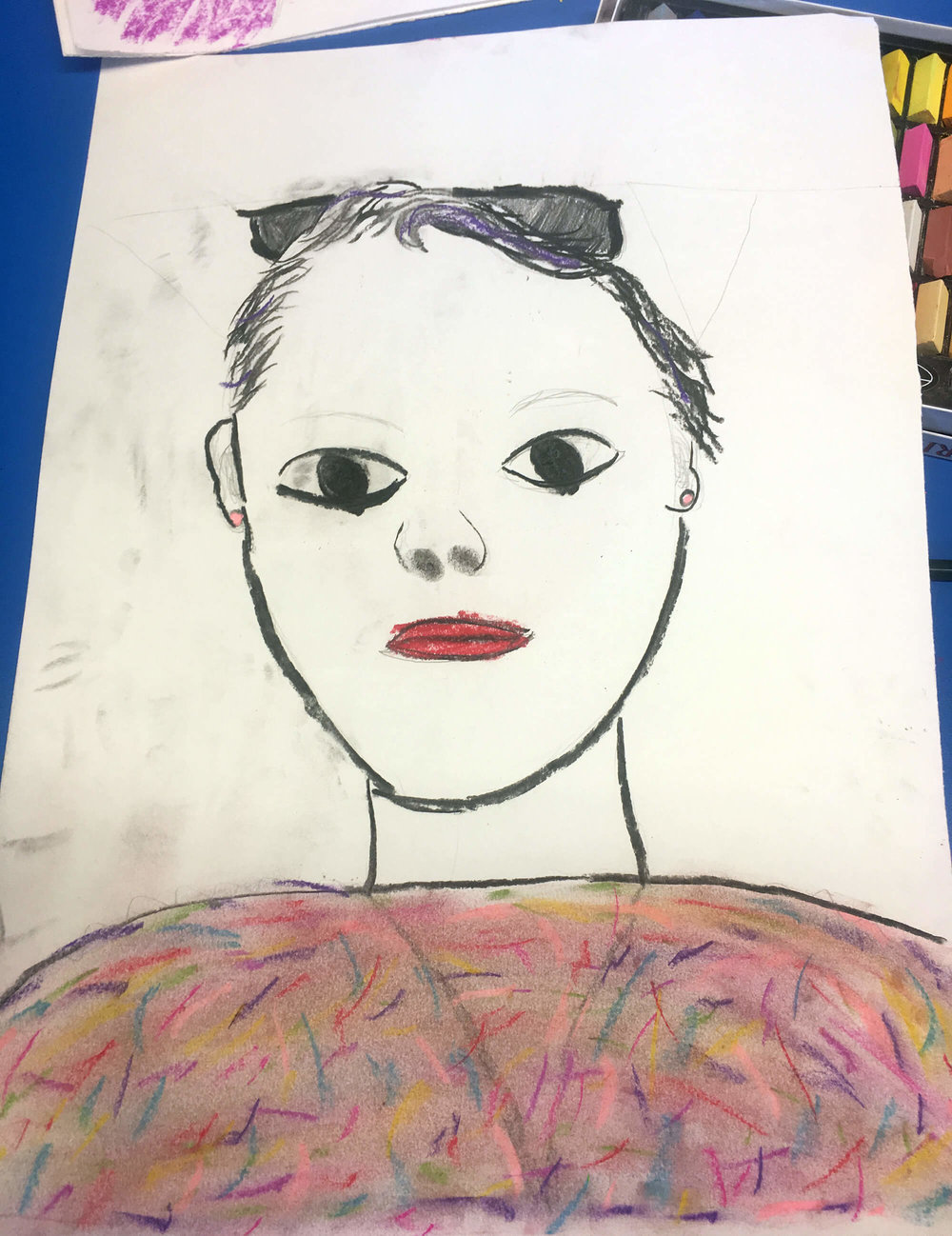 Carole by her Daughter, aged 11