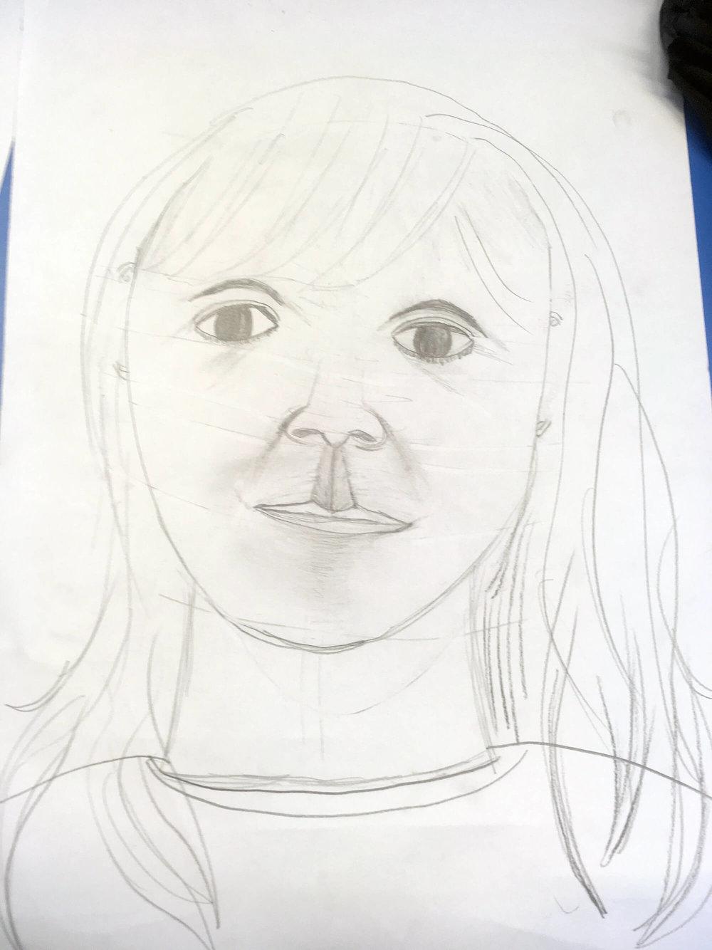 Winnie by her son, aged 9