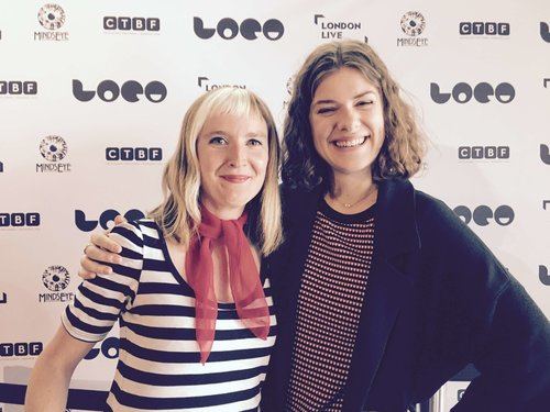 with Anna Maguire at LOCO 2017