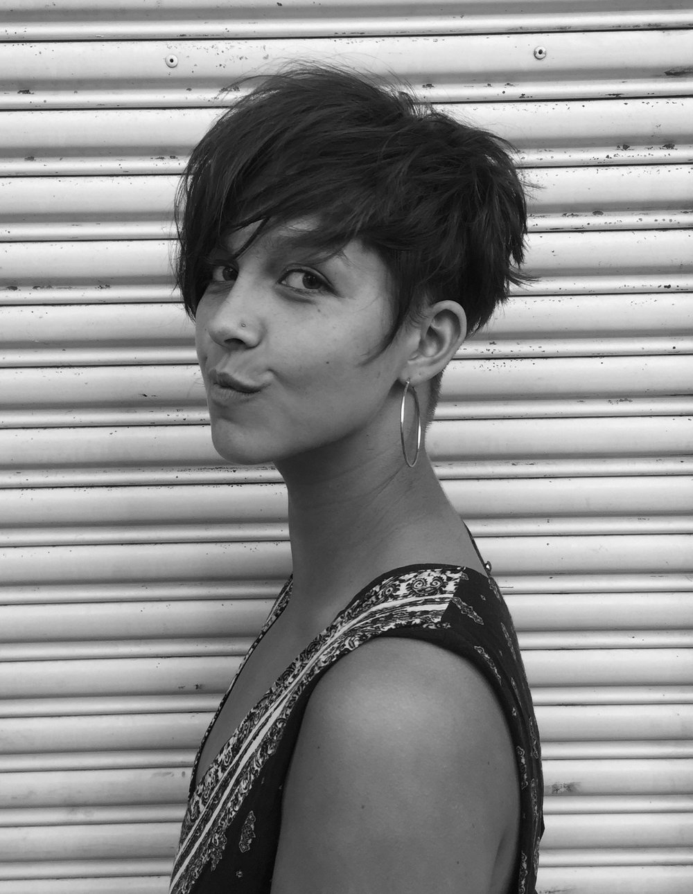 #pixiecut with a long BANG