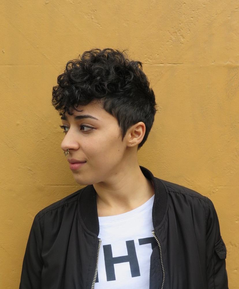 Cool shape on #curls