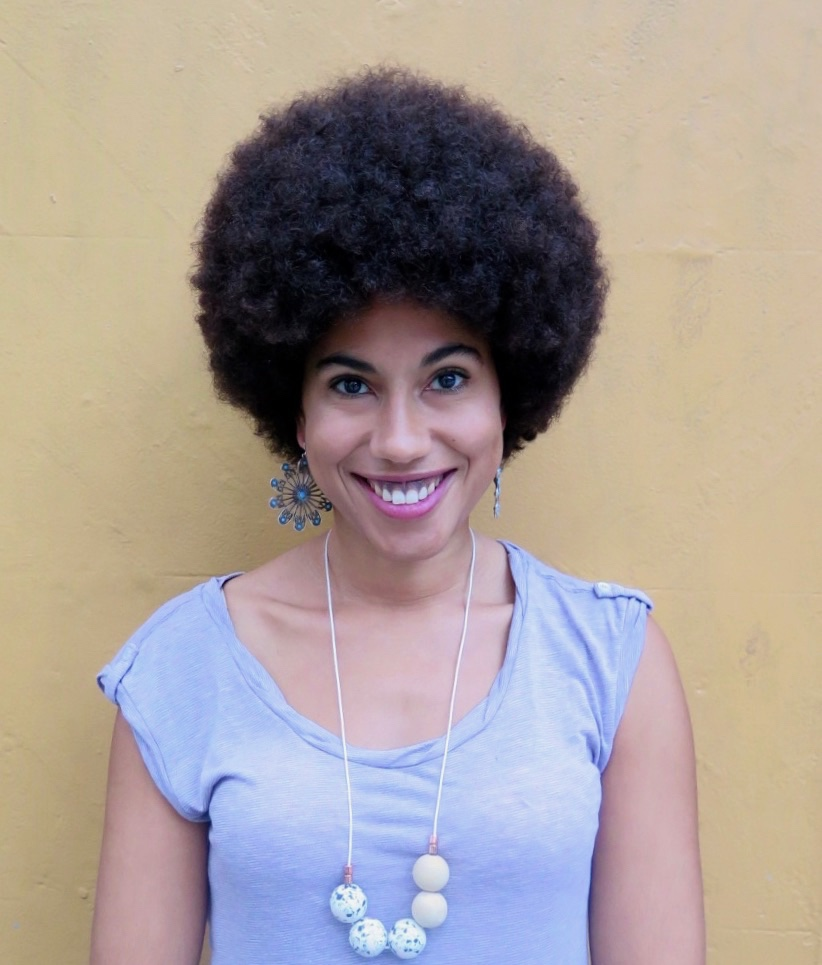 When you step out of the chop chop shop with your 'fro' in order